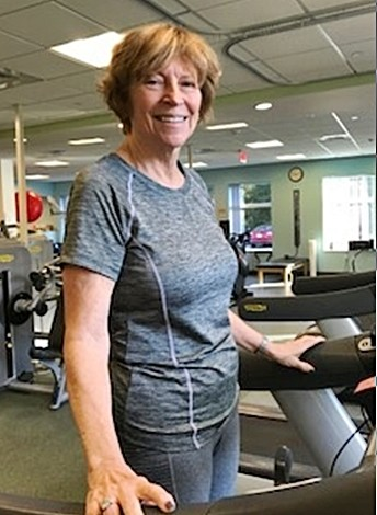 Dec 2017 rehabfit member of the month Carole Heuser