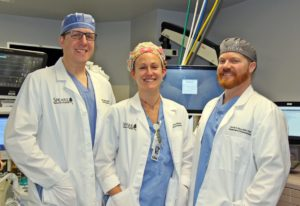 Steven V. Ball, MS, MBA, CRNA, Director of Anesthesiology, Rachael (Rae) Ritter, MSN, CRNA,Daniel E. Rice, Jr. DNP, CRNA